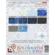 Something Blue by Jacqueline de Jongue by BeColourful Quilts by Jacqueline de Jongue - Patterns & Foundation Papers