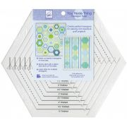 June Tailor You Hexie Thing Hexagon Ruler by June Tailor - Hexagon Rulers