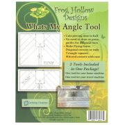 Whats My Angle Tool by  Sewing Machine Accessories - OzQuilts
