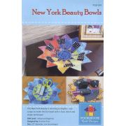 Laser Cut Kit & Pattern for New York Beauty Bowl by PoorHouse Quilt Designs - Kits