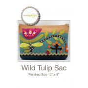 Wild Tulip Sac Pattern by Sue Spargo by Sue Spargo Sue Spargo - OzQuilts