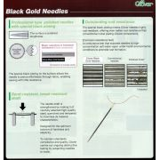 Clover Black Gold Applique Needles by Clover - Hand Sewing Needles