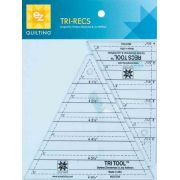 EZ Quilting Tri-Recs Ruler Set by EZ Quilting - Triangle Rulers