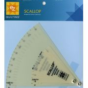 EZ Quilting Easy Scallop Adjustable Quilt Template by EZ Quilting Scallops, Wave, Curve Rulers - OzQuilts