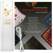 Piping Hot Binding Book & Tool Kit by Pieces be with you - Susan Cleveland Techniques - OzQuilts