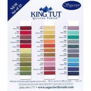 Superior King Tut Cotton, Jewel of The Nile, 500 Yard Spool by Superior King Tut Thread - King Tut Cotton Thread 500 Yards