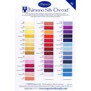 Superior Kimono Silk (100) Thread 220 Yards - 317 ORENJI by Superior Kimono Silk Thread - Kimono Silk Thread