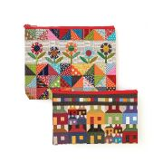 Scrap Quilt Secrets Eco Tote Set Of 2 by C&T Publishing Organisers - OzQuilts