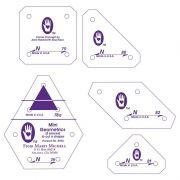 Marti Michell Template Set N - Mini Geometrics by Marti Michell - Quilt Blocks