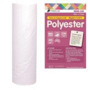 Matilda's Own 100% Polyester Batting Roll 15 metres x 2.4 metres by Matilda's Own - Bulk Rolls of Batting