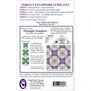 "Marti Michell Pineapple Template Set 1/2"" Finished Strips by Marti Michell Quilt Blocks - OzQuilts"