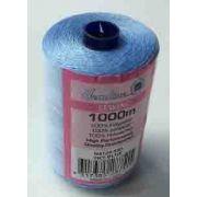 HemLine, 100% Polyester Thread, 1000 metre Sky Blue by Sew Easy - Hemline Polyester Thread