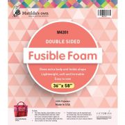 """Matilda's Own Double Sided Fusible Foam, 36"""" x 58"""" by Matilda's Own - Pre-Cut Batts"""