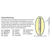 Klasse TopStitch Machine Needles 100/16 by Klasse - Sewing Machines Needles