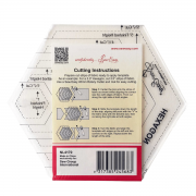 Multi Size Hexagon by Sew Easy - Hexagon Rulers