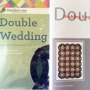 Double Wedding Ring Template Set and Booklet by Matilda's Own - Quilt Blocks