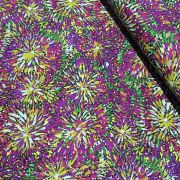 Emu Bush Purple Australian Aboriginal Art Fabric by Barbara Egan by M & S Textiles Cut from the Bolt - OzQuilts