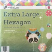 Matilda's Own Extra Large Hexagons Patchwork Template Set by Matilda's Own - Geometric Shapes