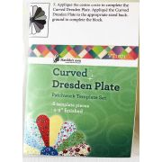 """Matilda's Own Miniature Curved Dresden Plate 4"""" to 9"""" Patchwork Template Set by Matilda's Own Quilt Blocks - OzQuilts"""