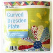 "Matilda's Own Curved Dresden Plate 10"" to 15"" Patchwork Template Set by Matilda's Own - Quilt Blocks"