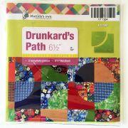 """Drunkards Path 6.5"""" Template Set by Matilda's Own - Quilt Blocks"""