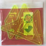 Matilda's Own Cheddar Star Patchwork Template Set by  Quilt Blocks - OzQuilts