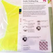 Matilda's Own Double Wedding Ring Patchwork Template Set by Matilda's Own - Quilt Blocks