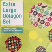 Matilda's Own Extra Large Octagon Patchwork Template Set by Matilda's Own Geometric Shapes - OzQuilts