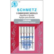 Schmetz Chrome Embroidery Needle  Size 75/11 by Schmetz Chrome - Sewing Machines Needles