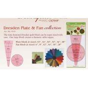 Clover Dresden Plate & Fan Templates by Clover - Quilt Blocks