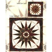Christmas Star in Stained Glass by Bear Paw Productions - Stained Glass