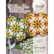 Wedding Star Table Topper Pattern & Foundation Paper by Quiltworx - Judy Niemeyer Quiltworx