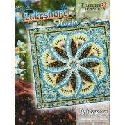 Lakeshore Hosta Pattern & Foundation Papers by Quiltworx - Judy Niemeyer Quiltworx