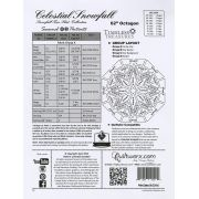 Celestial Snowfall Pattern & Foundation Papers by Quiltworx - Patterns & Foundation Papers