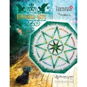 Emerald City Pattern & Paper Foundations by Quiltworx - Patterns & Foundation Papers