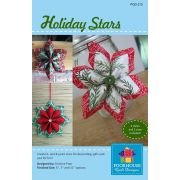 Holiday Stars Pattern by PoorHouse Quilt Designs - Christmas