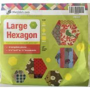 Matilda's Own Large Hexagon Patchwork Template Set by Matilda's Own - Geometric Shapes
