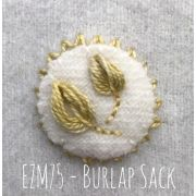Sue Spargo Eleganza Perle 8  - Burlap Sack (EZM 75) by Sue Spargo Eleganza Perle 8 - Sue Spargo Eleganza Perle 8