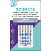 Schmetz Chrome Microtex Needles Size 60/8 by Schmetz Chrome - Sewing Machines Needles