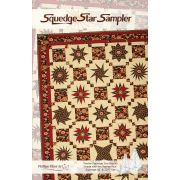 Squedge Star Sampler 24 Page Booklet by Phillips Fiber Art Quilt Patterns - OzQuilts