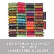 Sue Spargo Eleganza Full Set (Variegated Colours) by Sue Spargo Eleganza Perle 8 - Sue Spargo Eleganza Perle 8