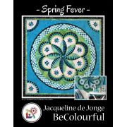 Spring Fever Pattern & Foundation Papers by Jacqueline de Jongue by BeColourful Quilts by Jacqueline de Jongue - Patterns & Foundation Papers
