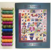 Sue Spargo Eleganza Thread - In Full Bloom Thread Set by Sue Spargo Eleganza Perle 8 - Sue Spargo Eleganza Perle 8