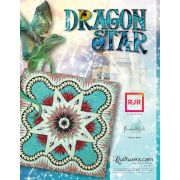 Dragon Star Pattern & Foundation Papers by Quiltworx - Judy Niemeyer Quiltworx