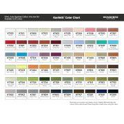 Konfetti - Pale Yellow (KT405) 1000 Metres by Wonderfil Konfetti 12wt Cotton Solid Colours - Konfetti 50wt Cotton Solids