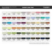 Konfetti - Black (KT200) 1000 Metres by Wonderfil Konfetti 12wt Cotton Solid Colours - Konfetti 50wt Cotton Solids