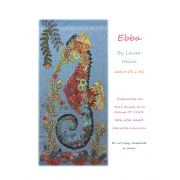 Ebba Seahorse Collage Pattern by Fiberworks - Collage