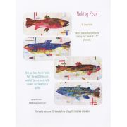 Making Fish Collage Pattern by Fiberworks Collage  - OzQuilts