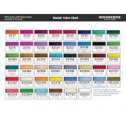 Wonderfil Razzle, Dark Turquoise (RZ538) Thread by Wonderfil Razzle 8wt Rayon - Razzle 8wt Rayon