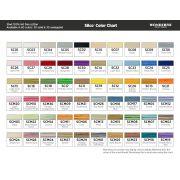 Wonderfil Silco, Brown/Green (SCM15) Thread by Wonderfil Silco 35wt Cotton - Silco 35wt Cotton